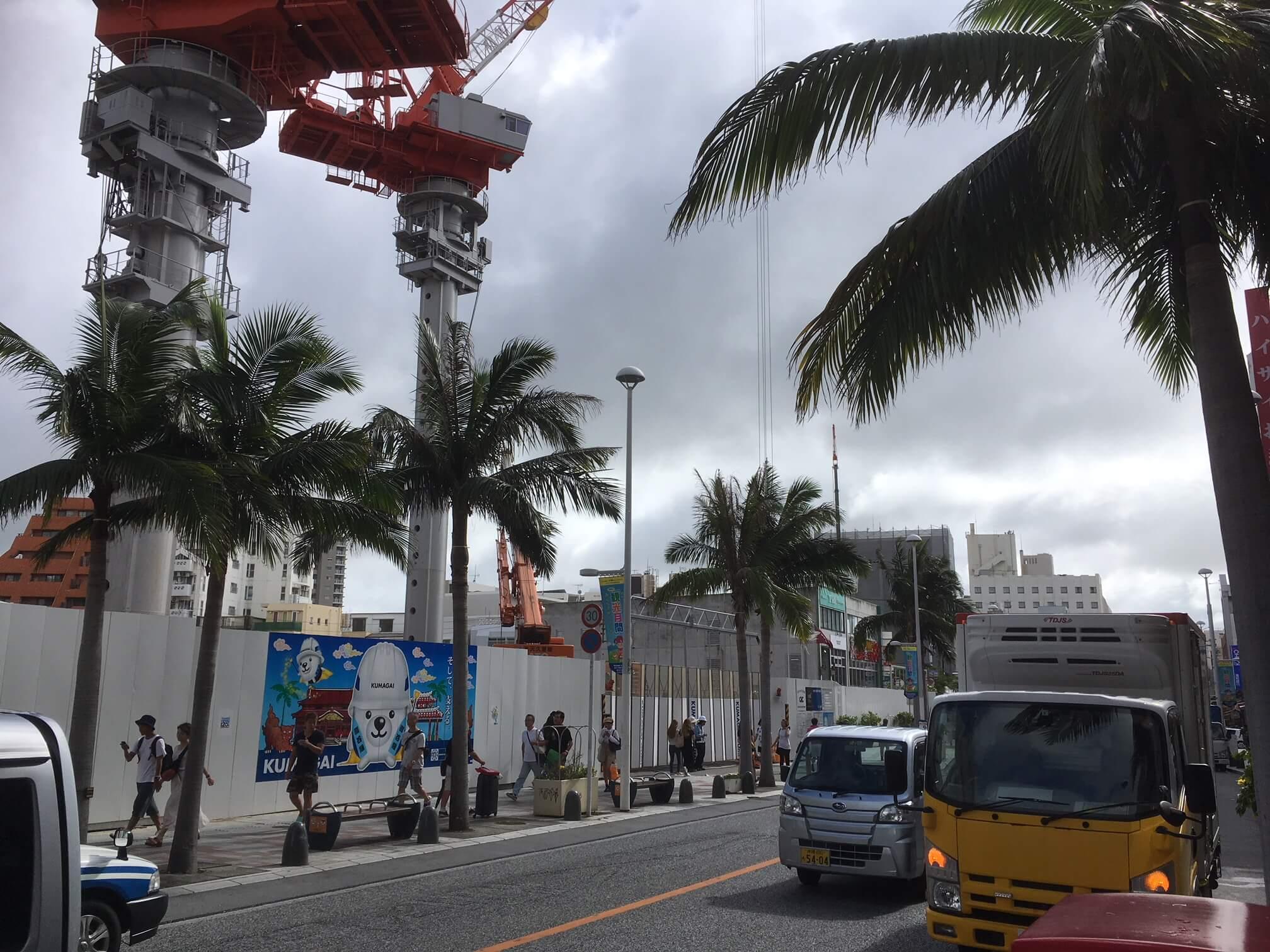 那覇市国際通り周辺に新築ホテル乱立!という噂を聞きつけたので、現地を練り歩いて調べた結果を報告!(2019年8月更新)